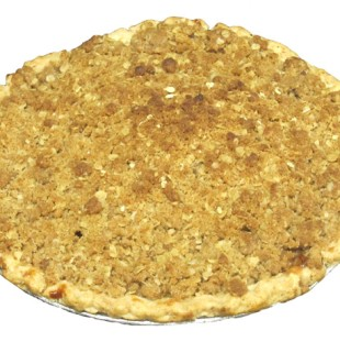 Apple Crumb Pie   $14.50