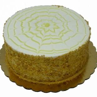Banana Cream Dessert Cake