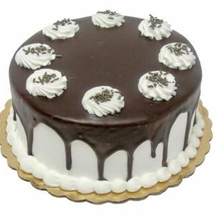 Black & White Dessert Cake