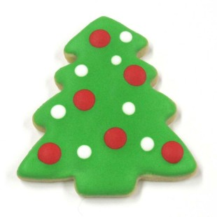 Christmas Tree  Polka Dot
