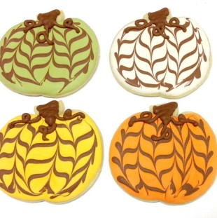 Fall Zig Zag Pumpkins