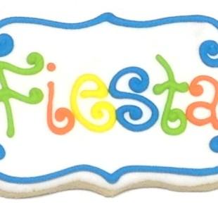 Fiesta Plaque