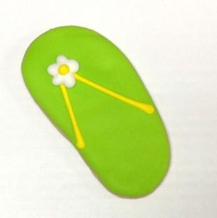 Flip Flop With Flower