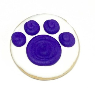 Pawprint On Circle