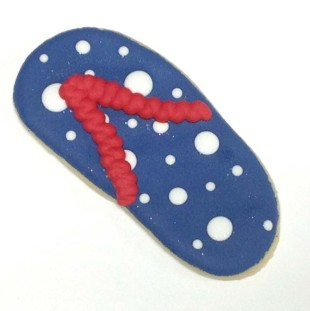 Polka Dot Flip Flop