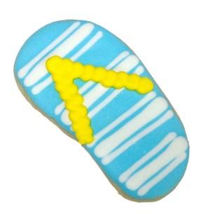 Striped Flip Flop