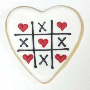 Tic Tac Toe Heart
