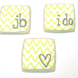 Wedding Chevron Squares