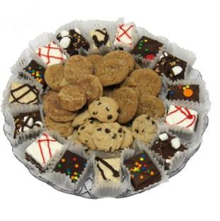 Brownie & Mini Drop Cookie Tray