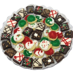 Mini Brownie & Button Tray
