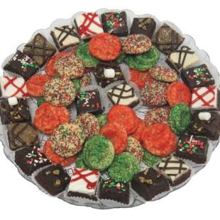 Brownie And Mini Sprinkle Tray