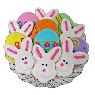 Bunnies And Easter Eggs Small