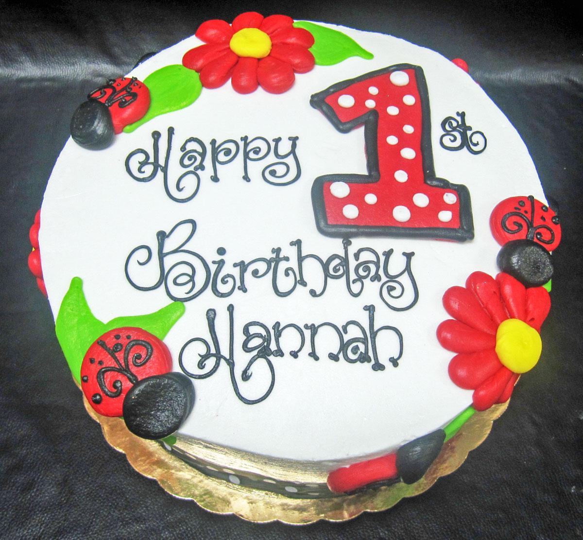 1st Birthday Cheris Bakery