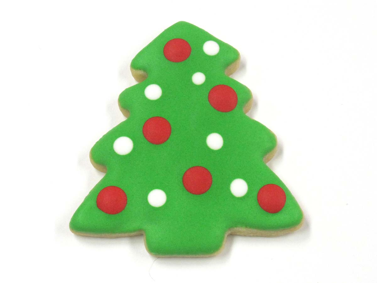 Polka dot christmas ornaments - Christmas Tree Polka Dot