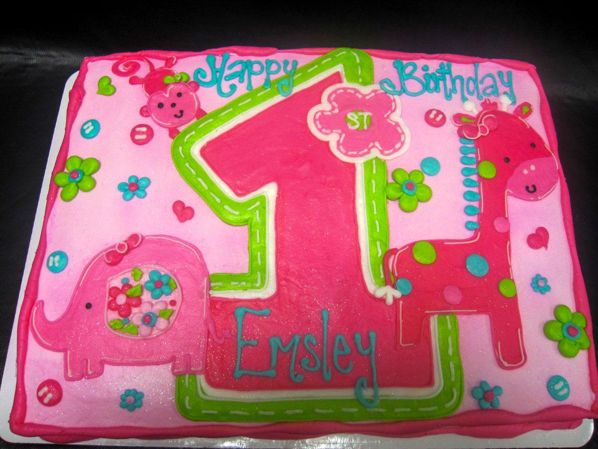 Awe Inspiring 1St Birthday Cheris Bakery Funny Birthday Cards Online Alyptdamsfinfo